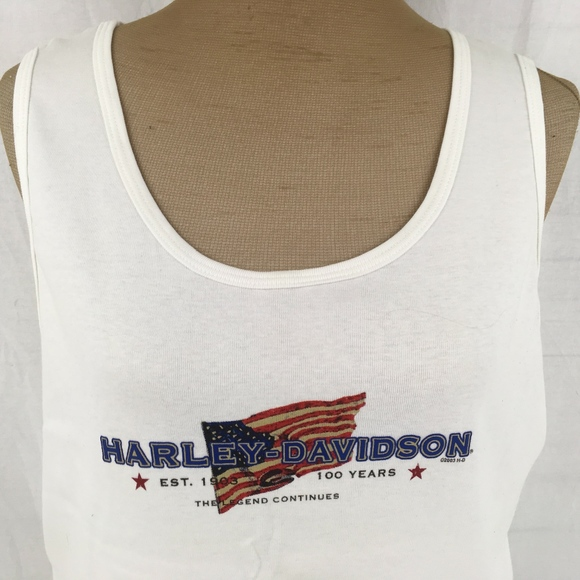 0b11496234994 Harley-Davidson Womens 2XL Tank Top Sleeveless